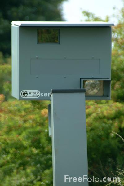 Picture of Speed Camera - Free Pictures - FreeFoto.com