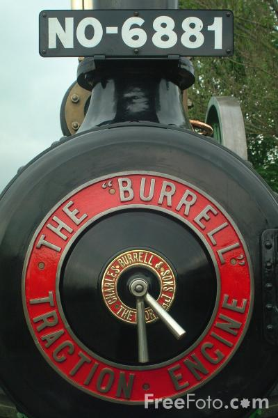Picture of The Burrell Steam Traction Engine - Free Pictures - FreeFoto.com