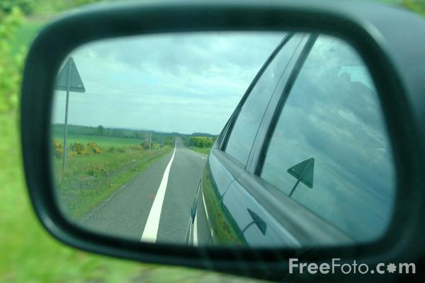 Picture of Wing Mirror - Free Pictures - FreeFoto.com