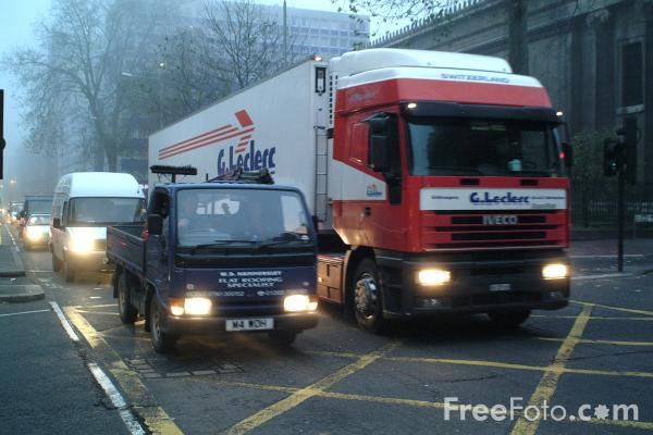 Picture of Traffic Jam, Central London - Free Pictures - FreeFoto.com