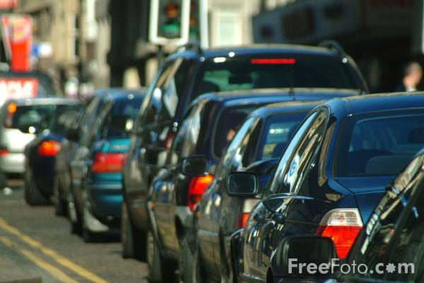 Picture of Traffic Jam, Newcastle upon Tyne - Free Pictures - FreeFoto.com