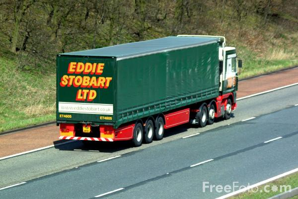 Picture of Eddie Stobart Truck - Free Pictures - FreeFoto.com