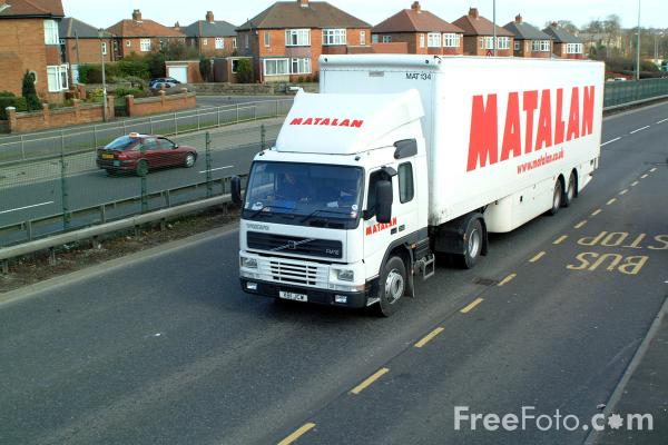 Picture of Matalan Truck - Free Pictures - FreeFoto.com