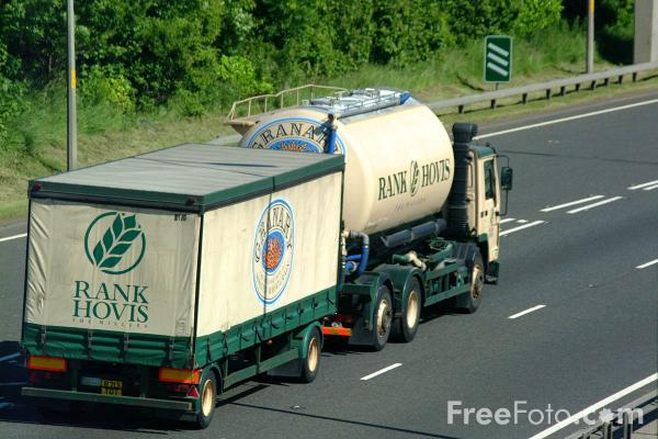 Picture of Rank Hovis Truck - Free Pictures - FreeFoto.com