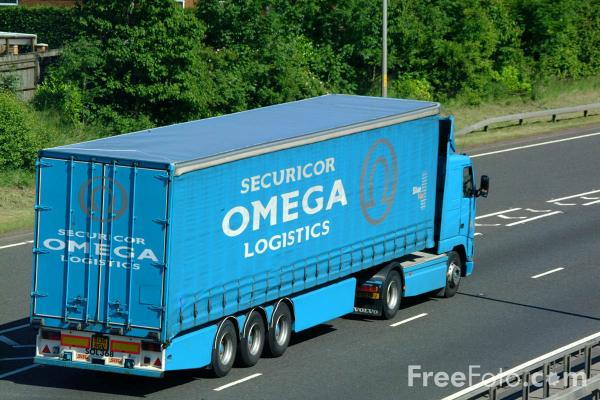 Picture of Securicor Omega Logistics Truck - Free Pictures - FreeFoto.com