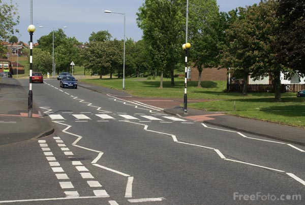 called a Zebra Crossing or