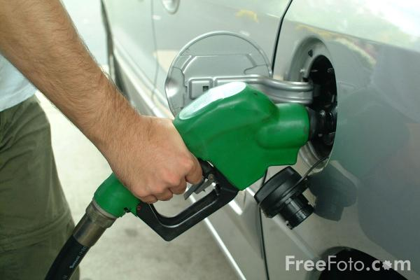 Picture of Filling up - Free Pictures - FreeFoto.com