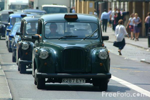 Picture of Hackney Carriage, London - Free Pictures - FreeFoto.com