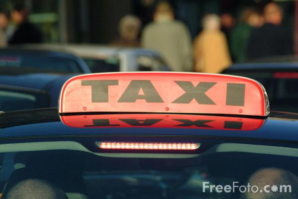 Picture of Taxis - Free Pictures - FreeFoto.com