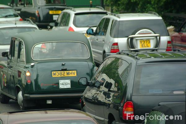 Picture of Black Cab, London - Free Pictures - FreeFoto.com