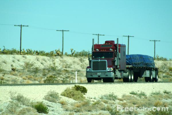 Picture of American Truck - Free Pictures - FreeFoto.com