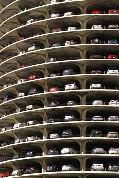 Car Parking Chicago Downtown