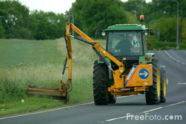 Picture of Grass Cutting - Free Pictures - FreeFoto.com