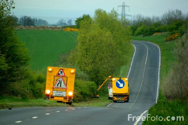 Picture of Mobile Roadworks - Free Pictures - FreeFoto.com