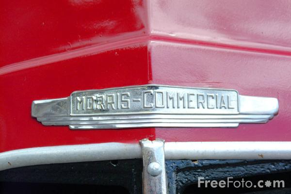 Picture of Morris Commercial Badge - Free Pictures - FreeFoto.com