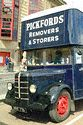 Image Ref: 21-60-55 - HNF716 Bedford MLZ Pantechnicon Pickfords Removals Van, Viewed 8716 times