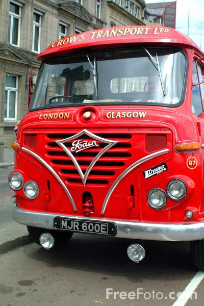 Picture of MJR600E Foden S36 Tractor - Free Pictures - FreeFoto.com