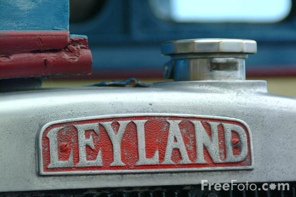Picture of Leyland Badge - Free Pictures - FreeFoto.com