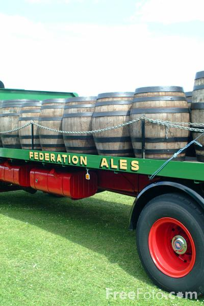 Picture of The Federation Clubs Federation Brewery Beer Lorry - Free Pictures - FreeFoto.com