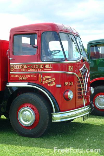 Picture of Foden S36 Tractor - Free Pictures - FreeFoto.com