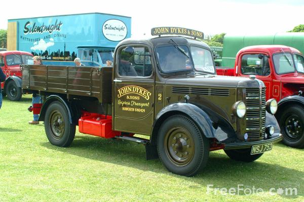 Picture of NSJ753 Bedford K-Type Dropside Lorry - Free Pictures - FreeFoto.com