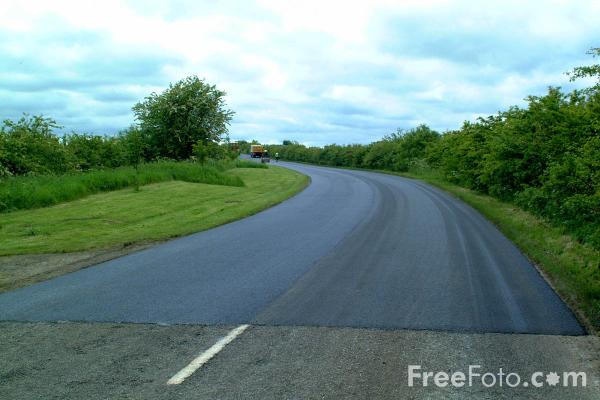 Picture of Tarmacadam - Free Pictures - FreeFoto.com
