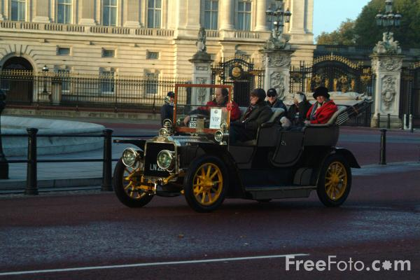 Picture of 1904 Mors  LN 2231  - London to Brighton Veteran Car Run - 2002 - Free Pictures - FreeFoto.com