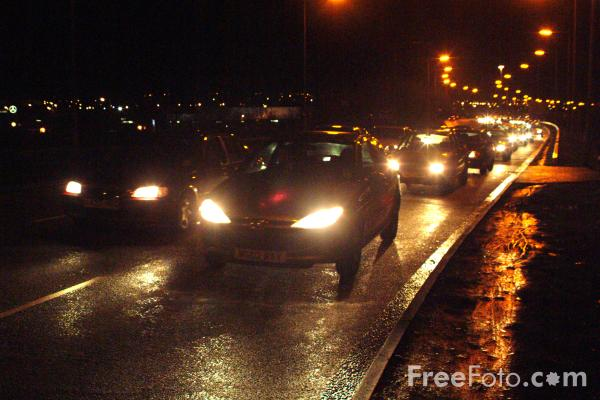 traffic at night by - photo #41