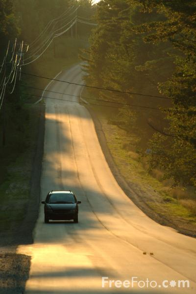 Picture of American road / USA road - Free Pictures - FreeFoto.com