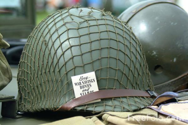 Picture of U.S. Army Helmet - Free Pictures - FreeFoto.com