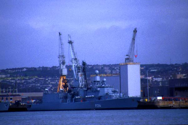 Picture of Navy Ship, Devonport. - Free Pictures - FreeFoto.com