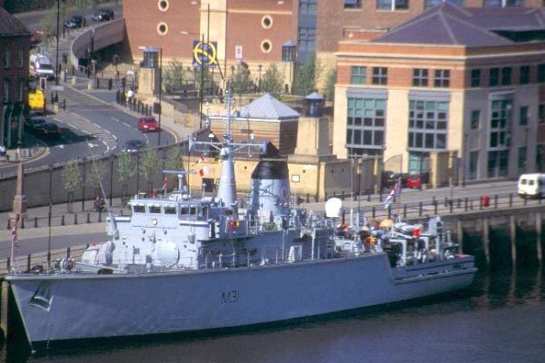 Picture of Royal Navy Minesweeper - Free Pictures - FreeFoto.com