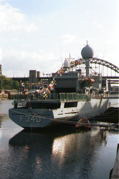 Picture of The Navy visits Newcastle upon tyne. - Free Pictures - FreeFoto.com