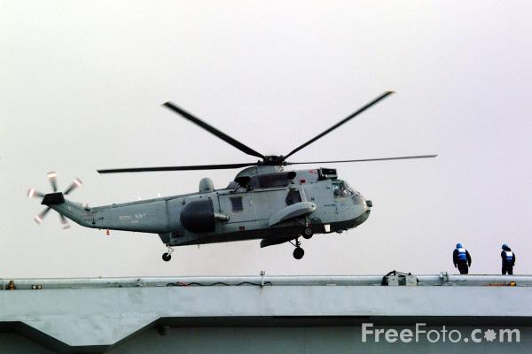 Picture of Sea King AEW 2 airborne early warning helicopter - Free Pictures - FreeFoto.com