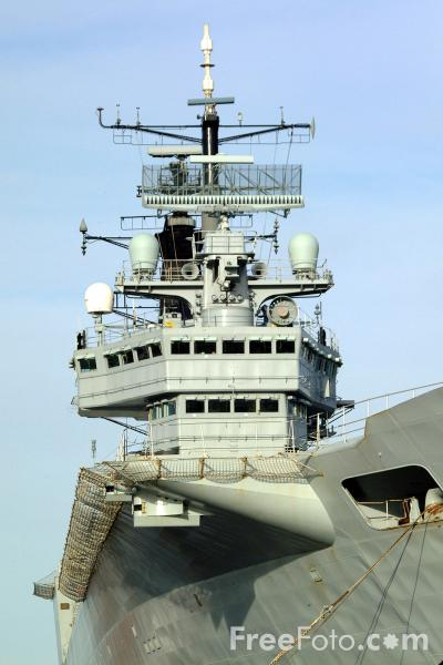 Picture of Aircraft carrier HMS Invincible - Free Pictures - FreeFoto.com