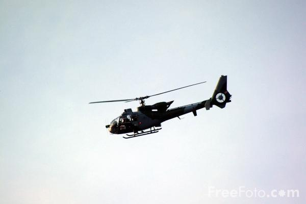 Picture of Gazelle helicopter - Free Pictures - FreeFoto.com