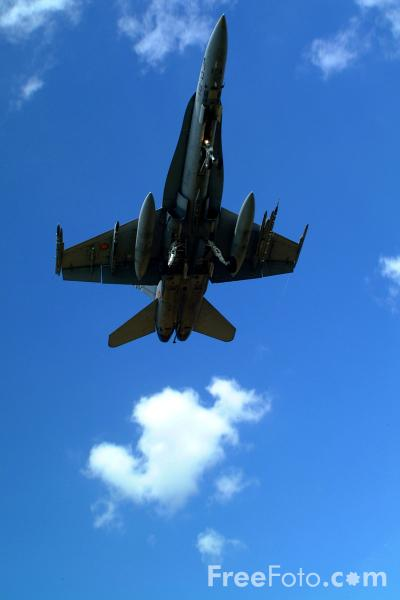 Picture of Spanish Air Force EF-18 Hornet - Free Pictures - FreeFoto.com