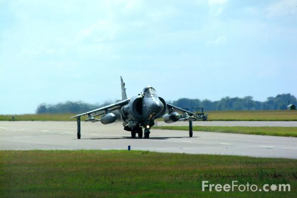Picture of Royal Navy Sea Harrier FA.2 - Free Pictures - FreeFoto.com