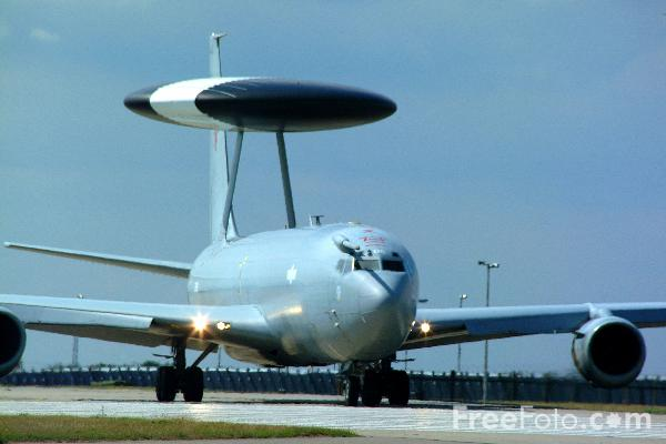 Picture of RAF Boeing E-3D Sentry - Free Pictures - FreeFoto.com