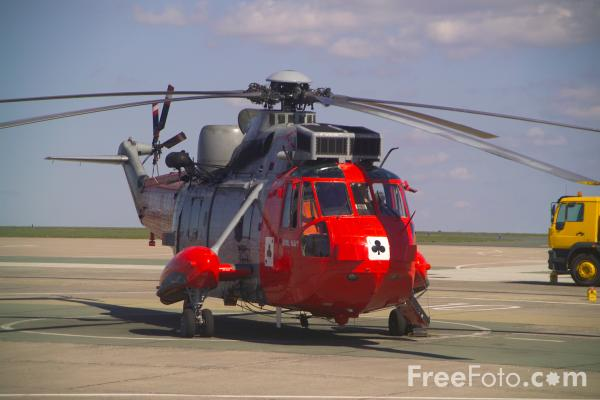 Picture of Royal Navy Sea King HAR Mk5 - Free Pictures - FreeFoto.com
