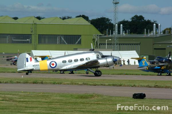 Picture of Avro 652A Anson - RAF Leuchars Airshow - Free Pictures - FreeFoto.com