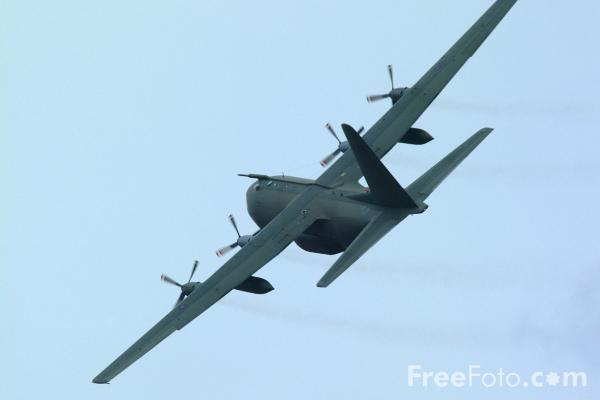 Picture of Lockheed C130 Hercules Aircraft - Free Pictures - FreeFoto.com