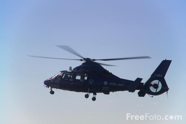 Picture of Royal Navy Aerospatiale AS-365N-2 Dauphin 2 - Free Pictures - FreeFoto.com