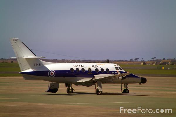 Picture of Royal Navy Jetstream T2 - Free Pictures - FreeFoto.com