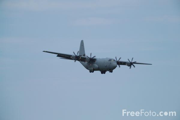 Picture of RAF Hercules C130J - Free Pictures - FreeFoto.com