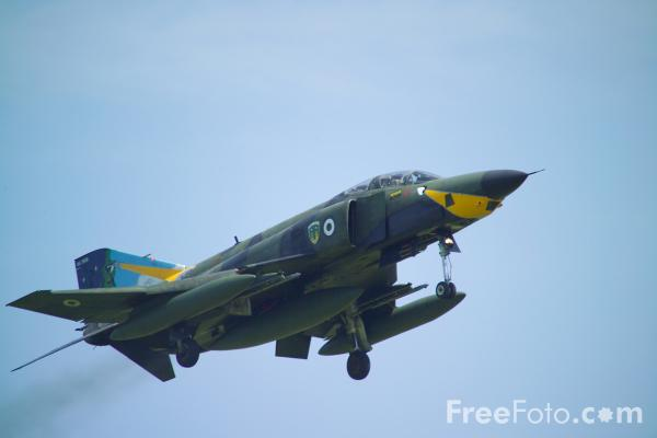Picture of Hellenic Air Force Phantom RF-4 - Free Pictures - FreeFoto.com