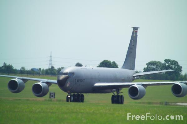 Picture of USAFE Boeing KC-135 Stratotanker - Free Pictures - FreeFoto.com