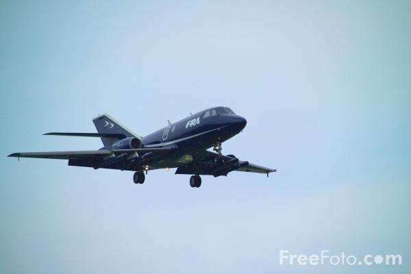 Picture of FR Aviation Dassault Falcon 20E-5 - Free Pictures - FreeFoto.com