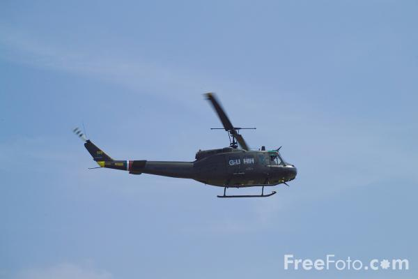 Picture of Bell UH-1H Iroquois Huey - Free Pictures - FreeFoto.com