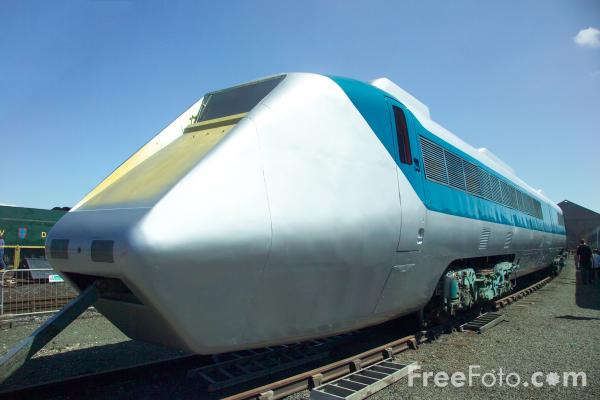 Picture of APT - Advanced Passenger Train. - Free Pictures - FreeFoto.com